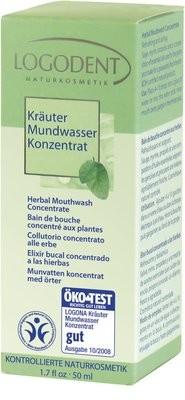 Logona. Logodent. Травяной ополаскиватель-концентрат для полости рта, 50 мл