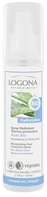 Logona. Натуральный спрей-термозащита для волос с биоалоэ вера, 150 мл