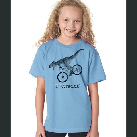 T. Wrecks Kids' Tee (Blue)
