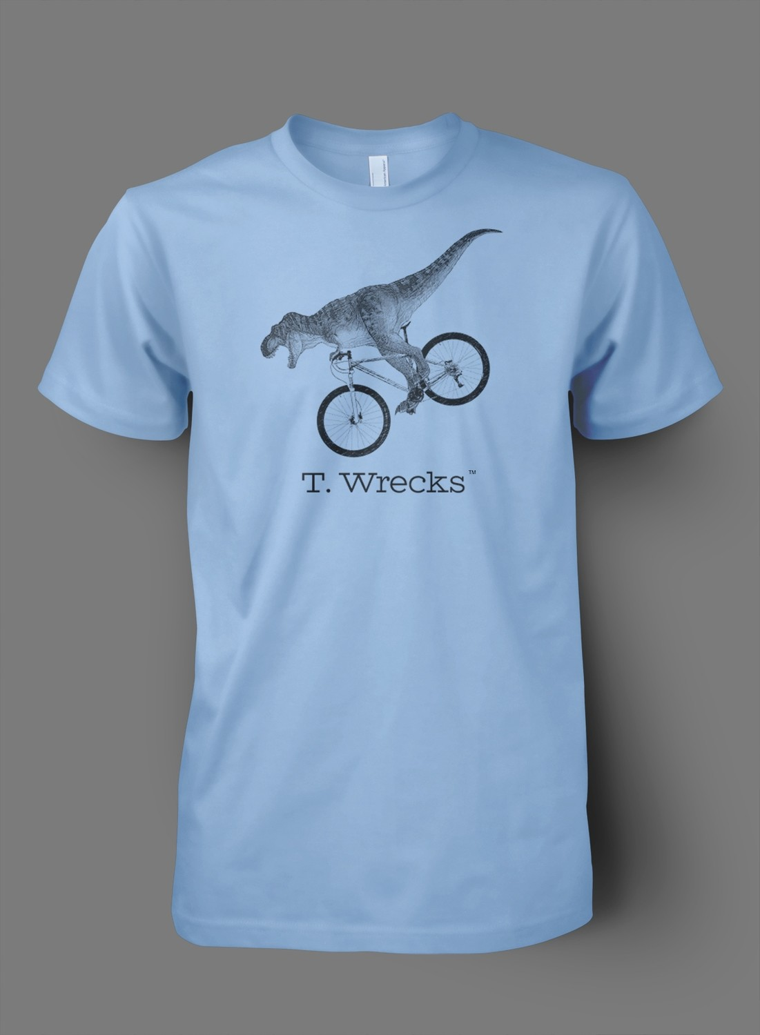 T. Wrecks Tee (Blue)