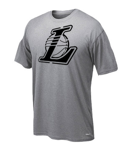 Dryfit t-shirt Lakers only black 209