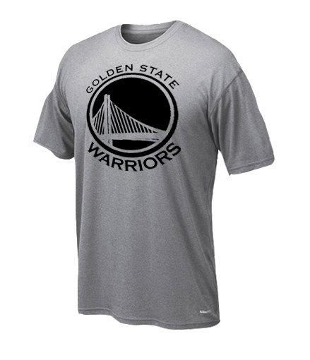 Dryfit t-shirt Golden state only black 239