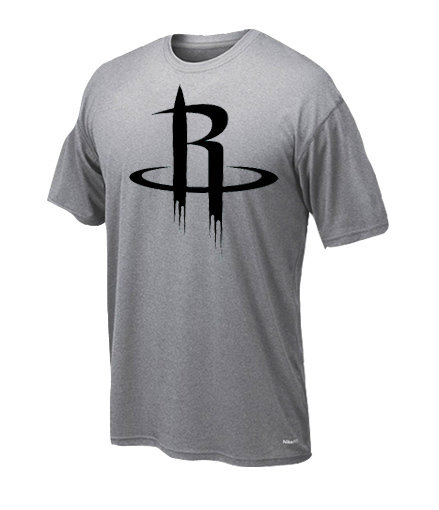 Dryfit t-shirt Houston only black 238