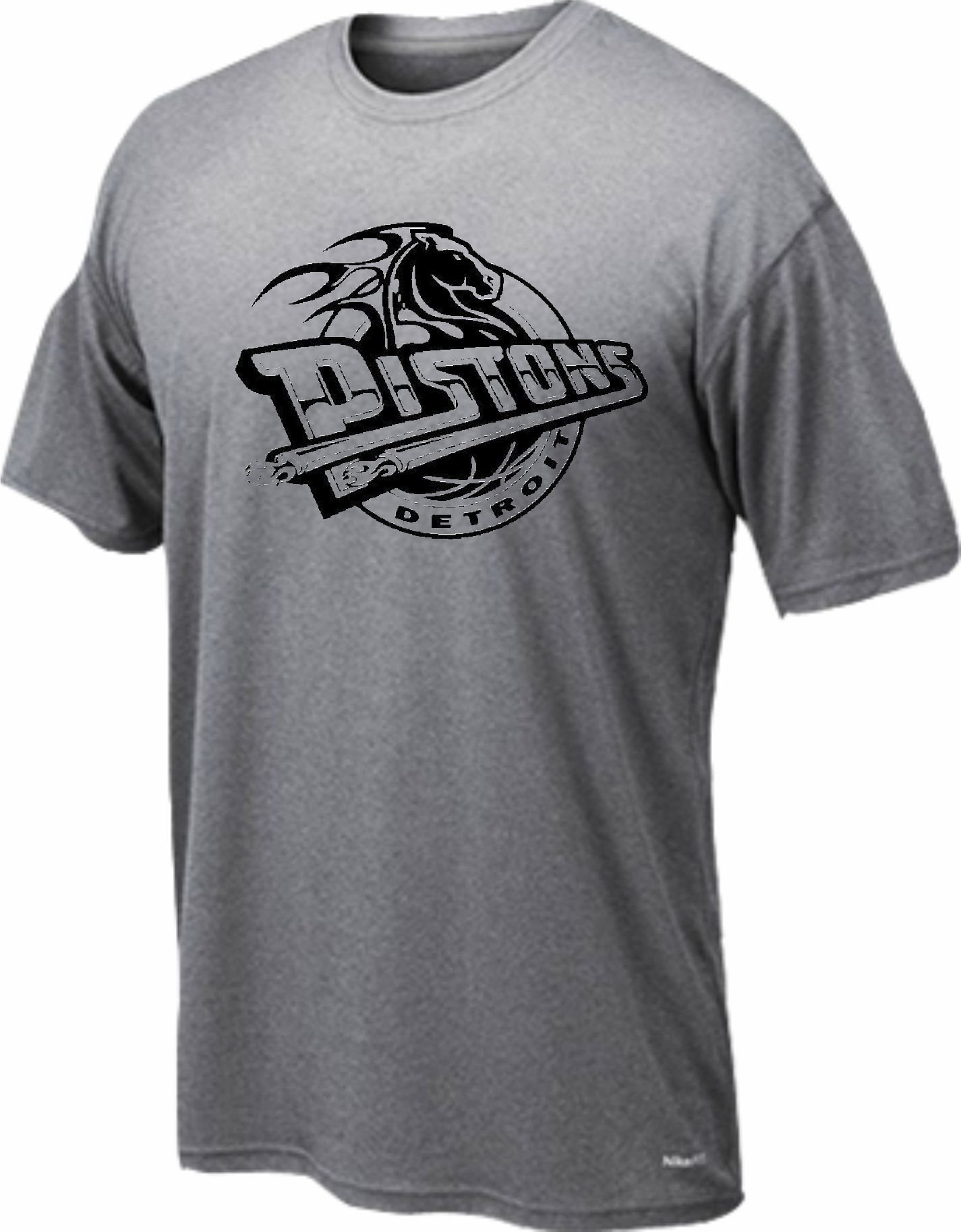 Dryfit t-shirt Detroit horse only black 247