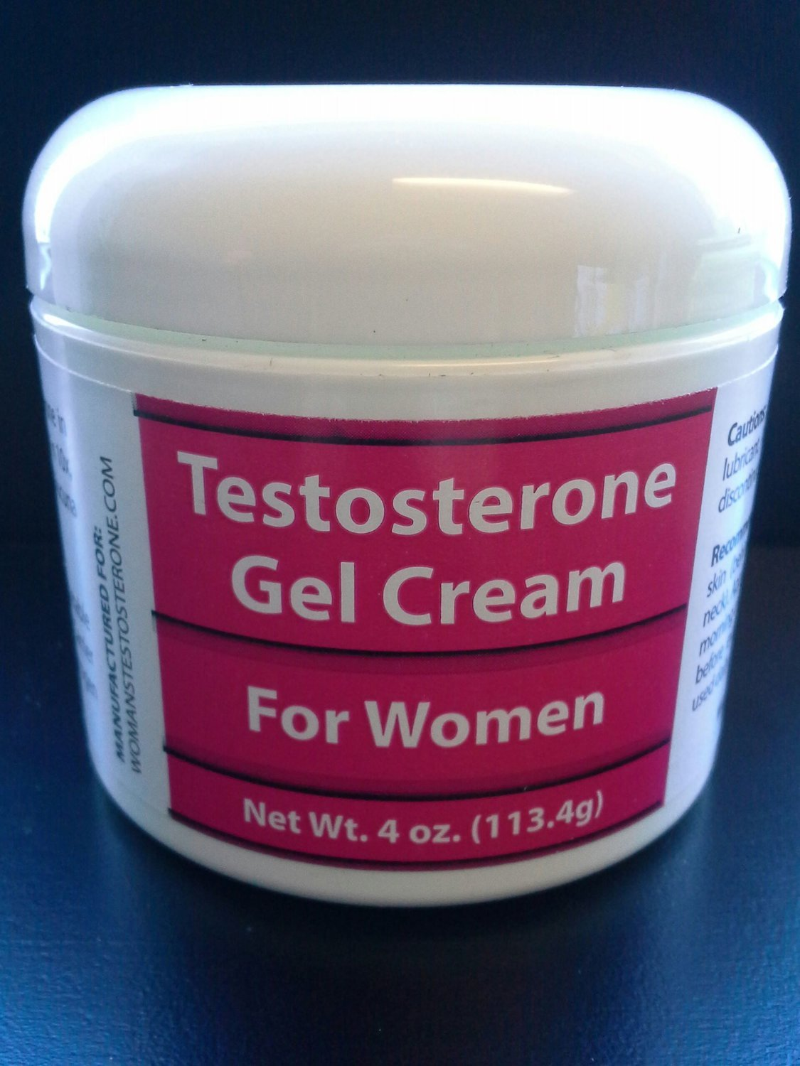 Womans Testosterone Gel Cream