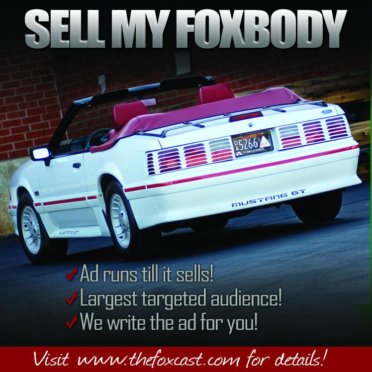 your foxbody through FCM