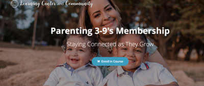 Parenting 3-9's Membership (Pay-What-You-Can)