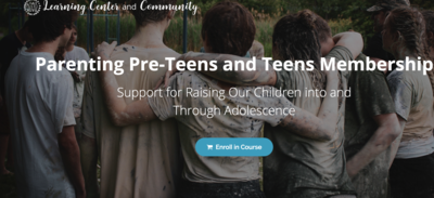 Parenting Pre-Teens and Teens Membership (Pay-What-You-Can)