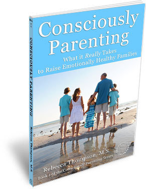Signed Paperback Book I: Consciously Parenting 00145