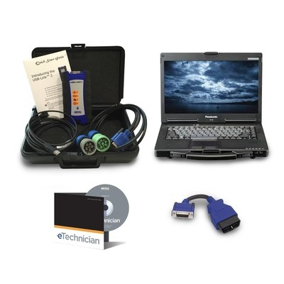 ETECHNICIAN™: HDS AND LMT W/ NEXIQ 124032 WITH TOUGHBOOK