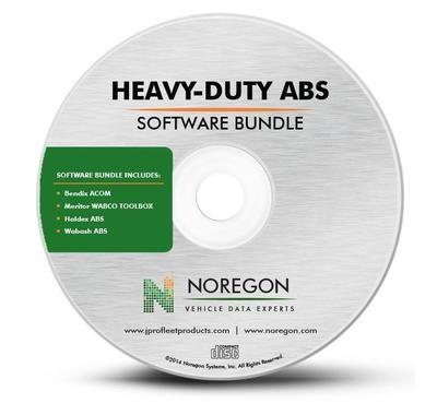 JPRO Heavy-Duty ABS Software Bundle with Meritor WABCO, Bendix, Haldex & Wabash