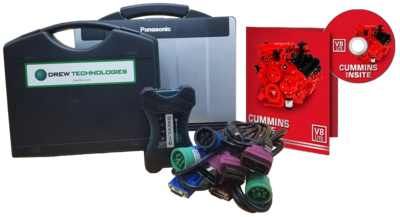 Cummins Insite Engine Diagnostic Software Lite with Drewlinq Panasonic Toughbook Dealer Package