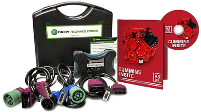 Cummins Insite Engine Diagnostic Software Pro with DrewLinQ