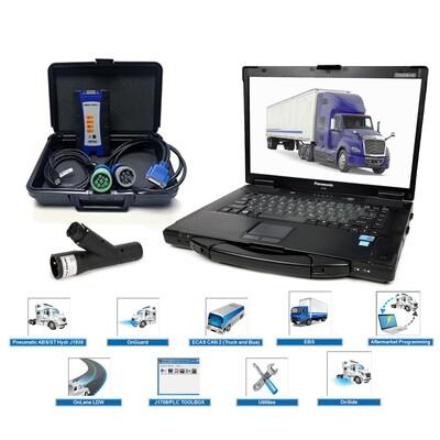 Oem Diagnostics Diesel ABS Software Nexiq Toughbook Bundle Meritor Wabco Haldex Bendix ACOM Wabash