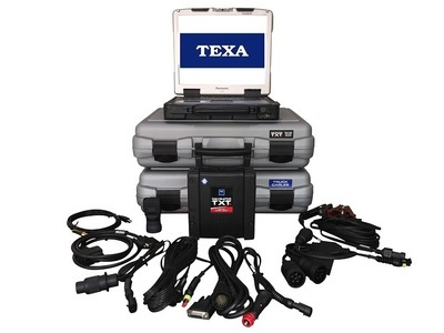 Texa Heavy Truck Scanner Diagnostic Package with Toughbook