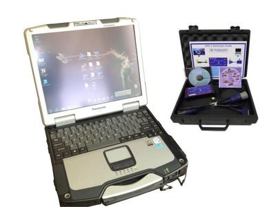 Detroit Diesel Diagnostic Link Tool with Drew Tech Scanner