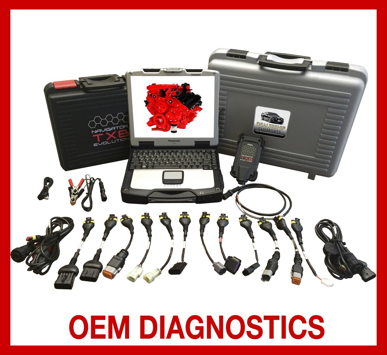 TEXA Dealer Level Marine Diagnostic Scanner Tool Full Gas & Diesel Coverage