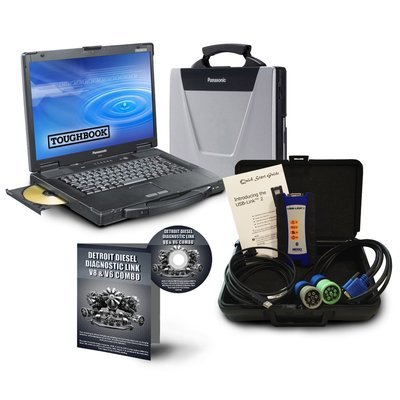 NexIQ 124032 USB link 2 with Detroit Diesel Toughbook