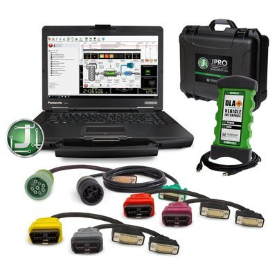 JPro Diesel Diagnostic Tool with Repair information and Toughbook