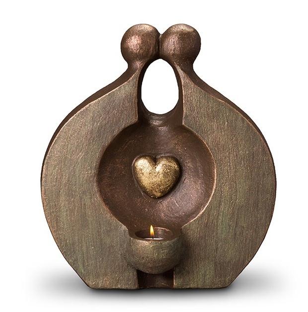 Duo urn Herinnering waxine