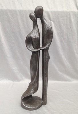 moderne sculpture nr: 241 zilver