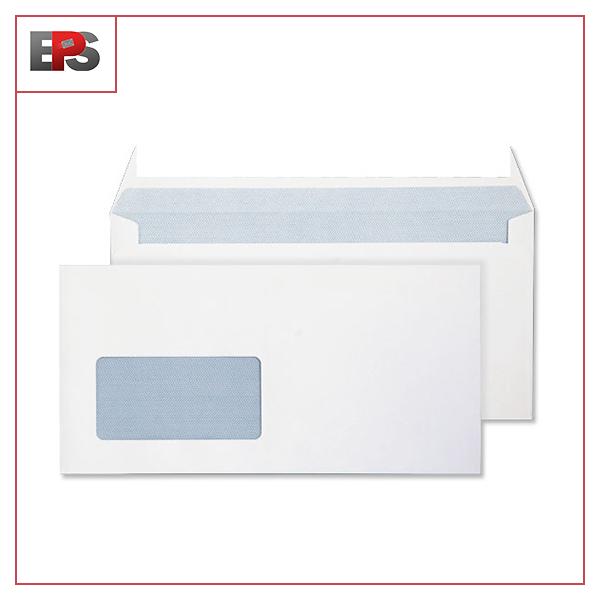 DL White window Envelopes 90gsm (1000)