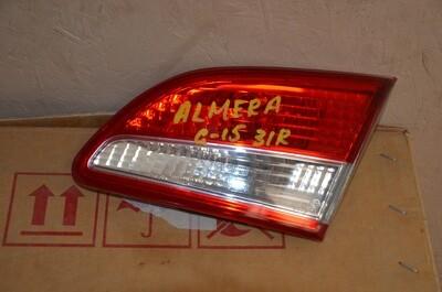 Фонарь внутренний правый Nissan Almera G15
