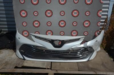 Бампер передний Toyota Camry V70 Дефект