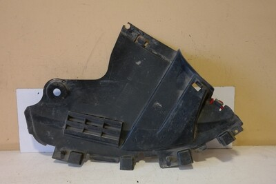 Пыльник переднего бампера левый Renault Logan