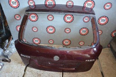 Дверь крышка багажника Skoda Fabia универсал