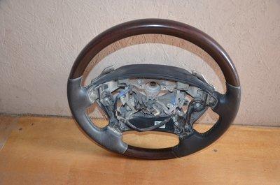 Рулевое колесо Lexus LX 570 Красное дерево
