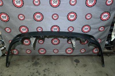 Юбка заднего бампера Toyota Highlander III
