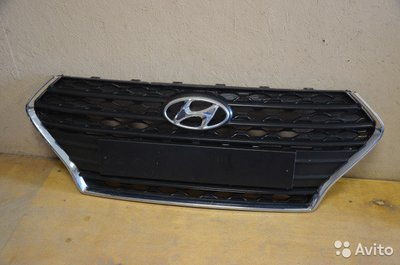 Решетка радиатора Hyundai Solaris 2 New