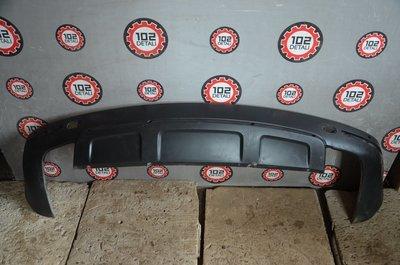 Юбка заднего бампера Volkswagen Touareg