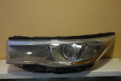 Фара левая Toyota Highlander 3 LED