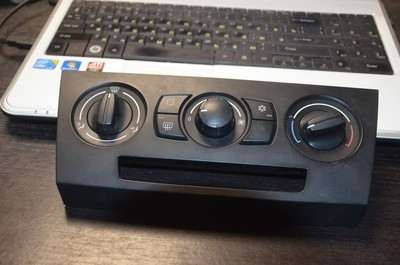 Блок управления печкой BMW 3 E90