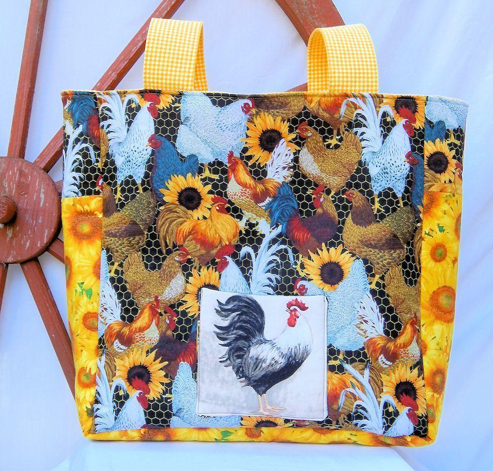 Rooster - One-of-a-Kind Designer Bag