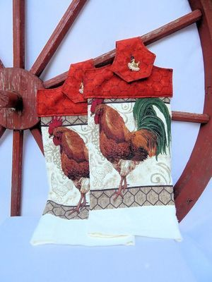 Rooster Kitchen Towel
