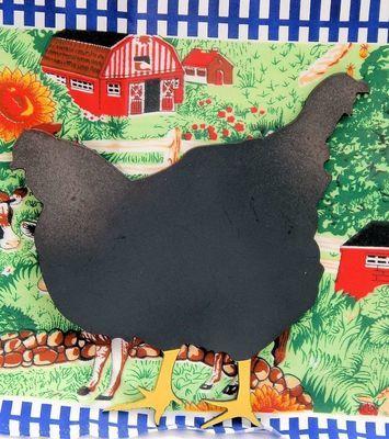 Trivet- Hen