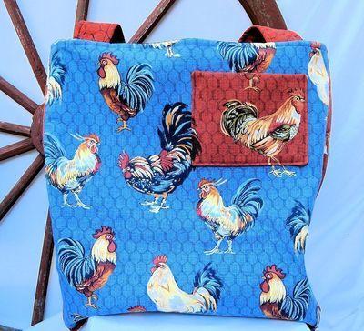 Rooster One-of-a-Kind Designer Bag