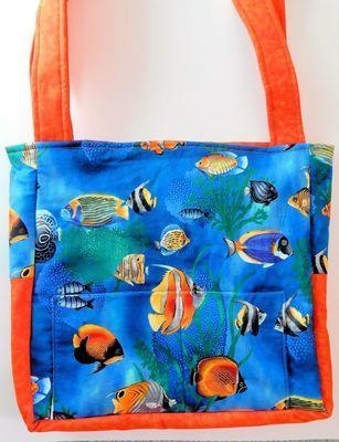 Tropical Fish - One-Of-a-Kind Designer Bag