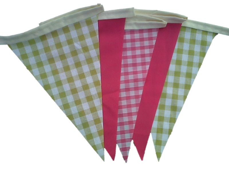how to make single sided bunting