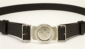 Leather Uniform Belt