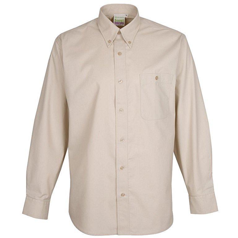 Mens Long Sleeve Uniform Shirt