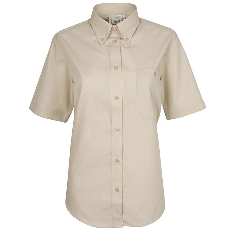 Ladies Short Sleeve Uniform Blouse