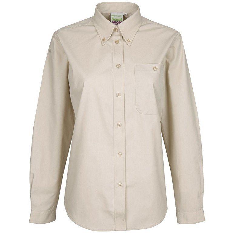 Ladies Long Sleeve Uniform Blouse