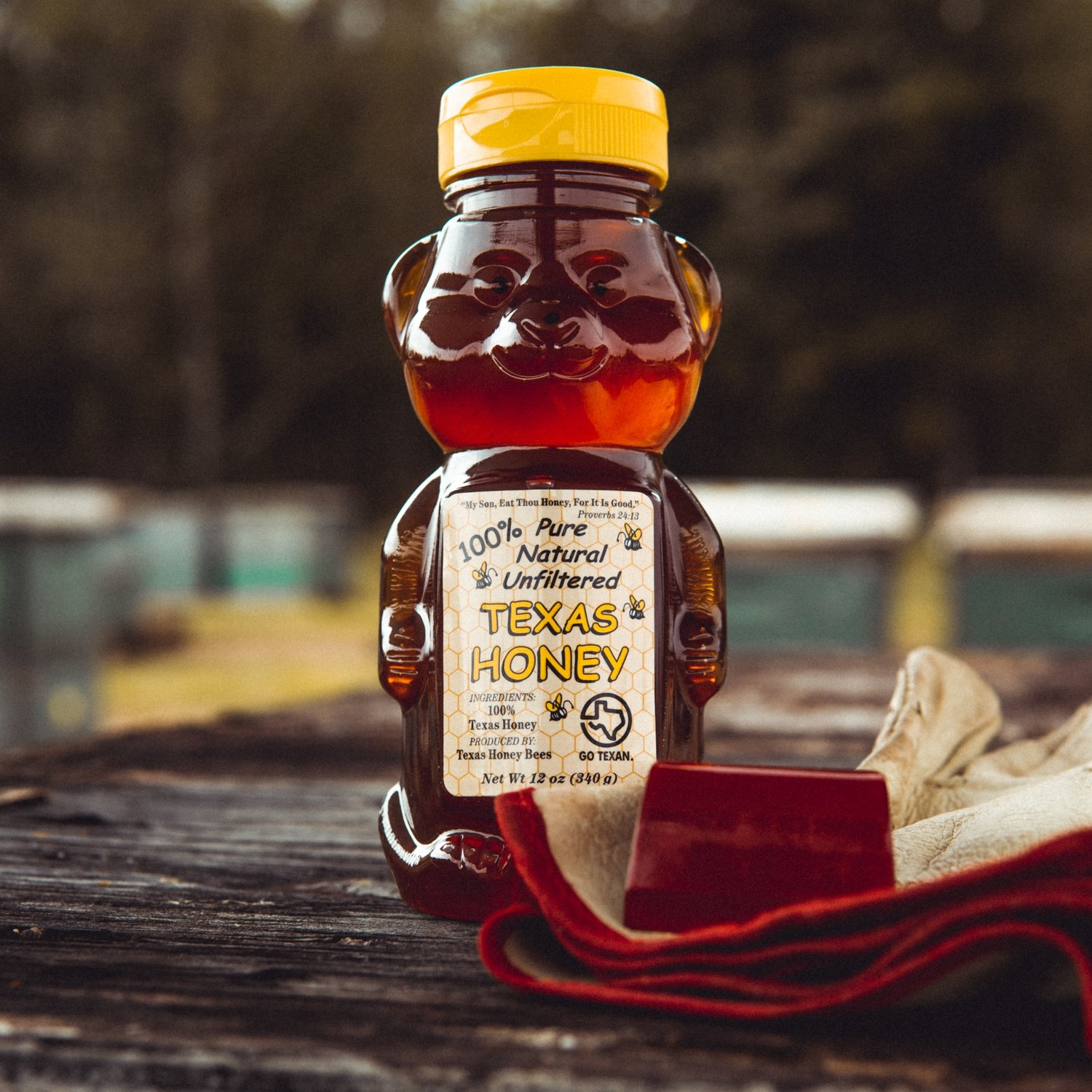 Texas Honey 12oz Bear