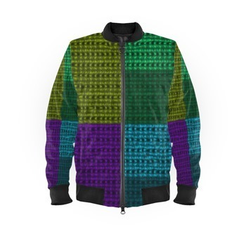 Bomber Jacket Multi Print