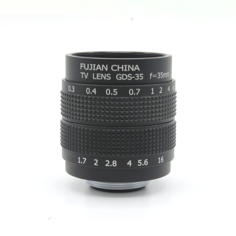 Fujian 35mm f/1.7 prime lens
