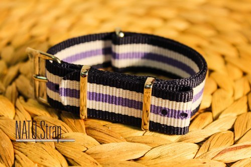 Navy purple white 107